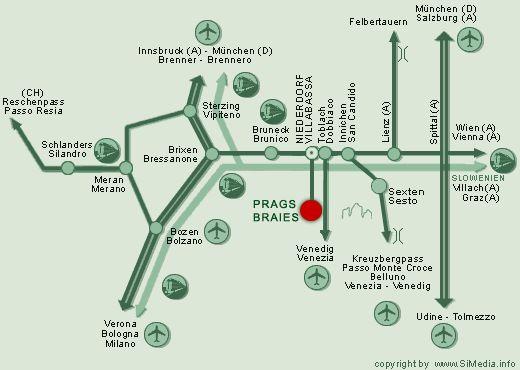 Anreise – Hotel Pragser Wildsee