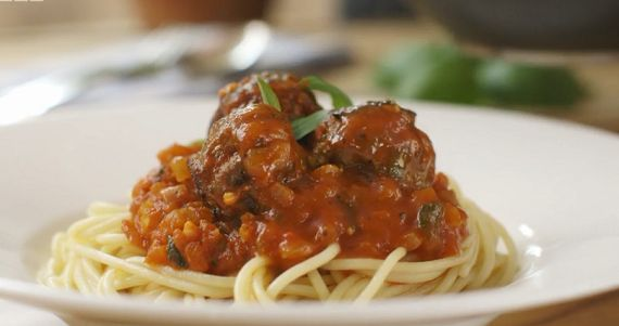 Mary Berry tomato and herb meatballs recipe on Mary Berry's Absolute Favourites