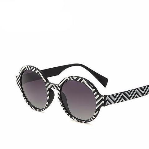 daaaa37a56b8b Round Fashion Polarized Women s Sunglasses