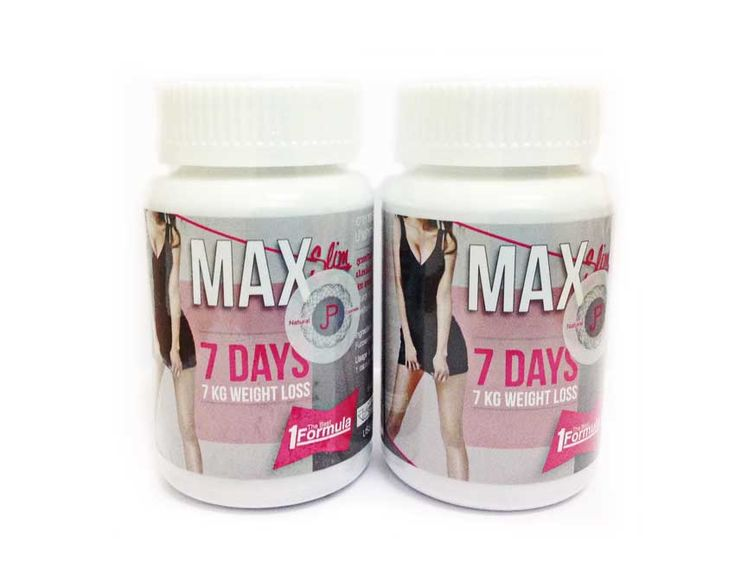 Max Slim Slimming Capsule Wholesale 100 Pieces – Thailand Beauty Products Supplier