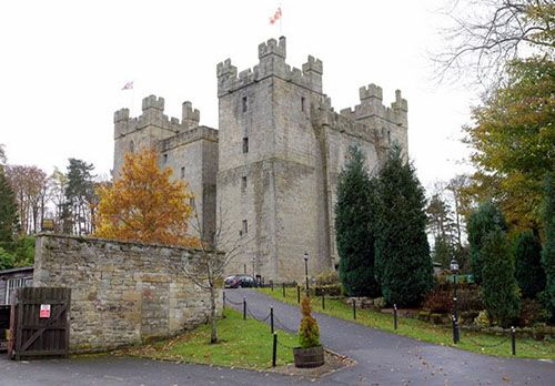 Stay the night in a castle and sleep like royalty - Langley Castle © Andrew Curtis and licensed for reuse under this Creative Commons Licence