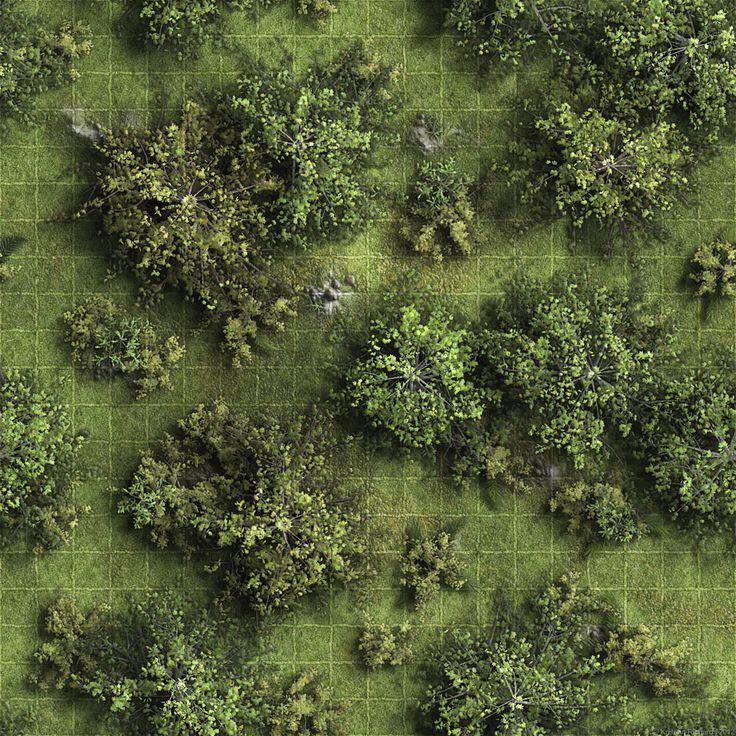 forest map maps dungeon rpg grid tile battle fantasy pathfinder tiles wilderness 1000 et donjon battlemap village tabletop battlemaps texture