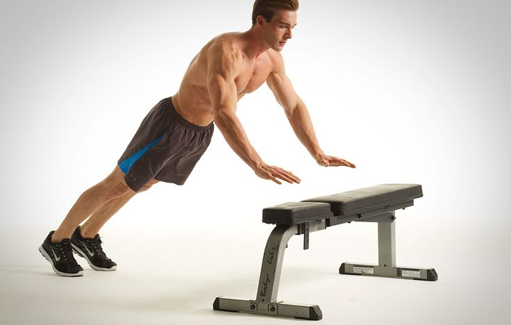 Hammer your chest, shoulders, arms, and core with this new pushup routine