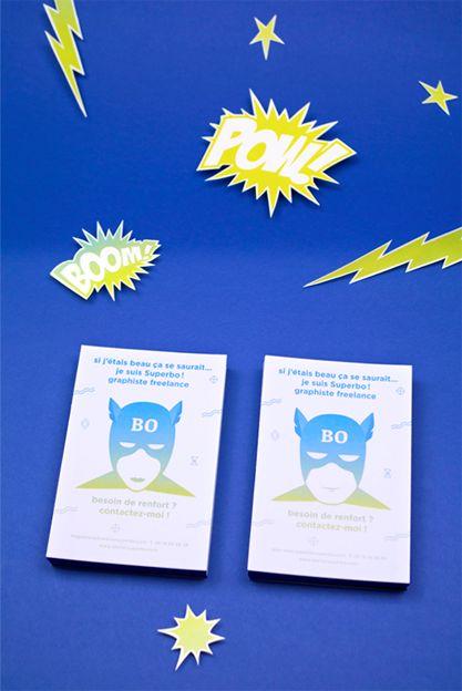 atelier Superbo !!!! Nouvelles cartes de visite, cartons...