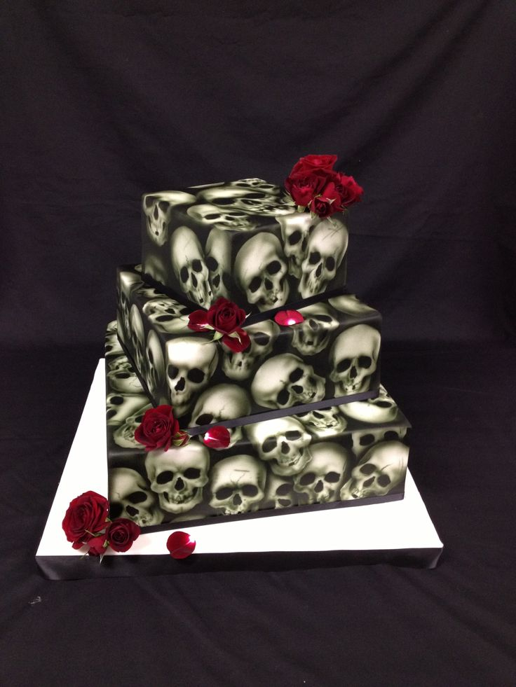 amazing wedding cakes skull cake 210 best images about creepy cool cakes on 10732