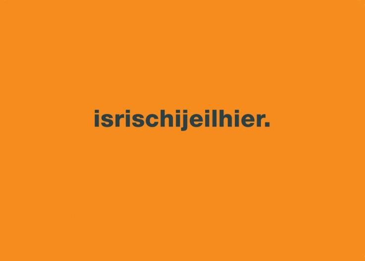 Postkarte: isrischijeilhier.