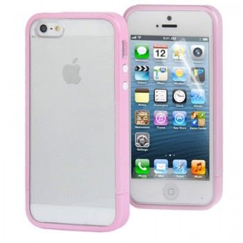 iPhone 5/5S Cases : Bumper Frame & Shell for iPhone 5 - Pink