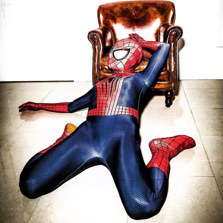 もし夢でまた逢えるなら 笑顔で逢いたい . . #spiderman #amazingspiderman #amazingspiderman2 #スパイダーマン…