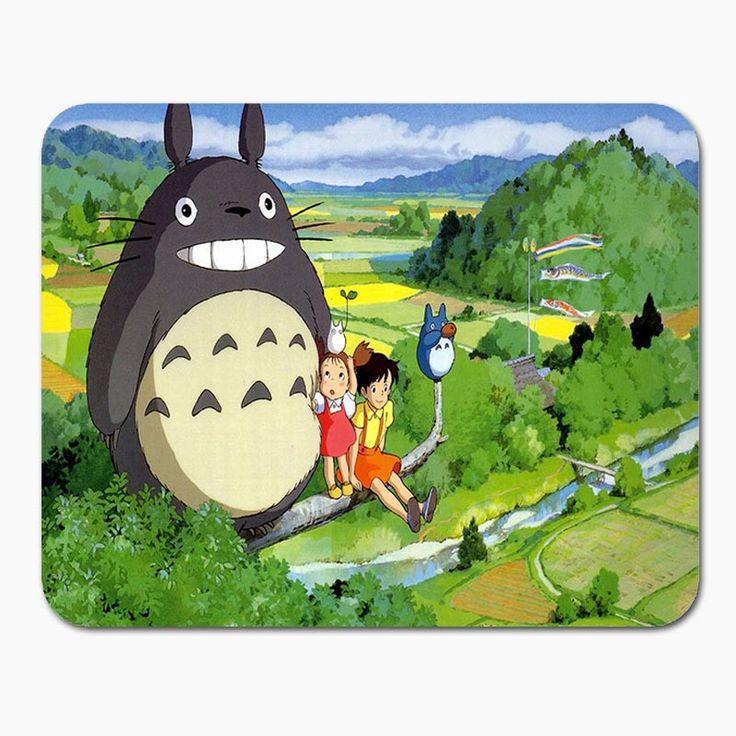 New Anti-Slip PC My Neighbour Totoro Anime Umbrellas Silicon Mouse Pad