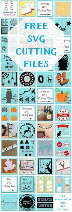 Free SVG Cutting Files at GetSilvered.com