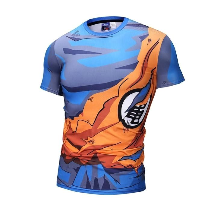Goku Whis Symbol Outfit 3d Long Sleeve Compression Shirt Ropa