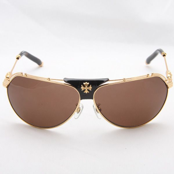 Most Expensive Sunglasses in the World Chrome Hearts Kufannaw - $ 1350 //  Chrome Hearts are famous for their chic sunglasses featured with dagger, floral cross and fleur-de-lis designs. The rims are made of titanium adorned with sterling silver and the temples have exotic woods.