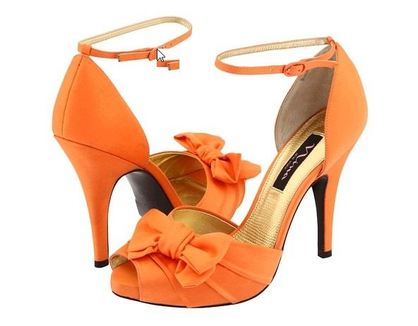 oranges dress shoes | orange wedding shoes models thumb Orange Wedding Dress: What To Expect ...