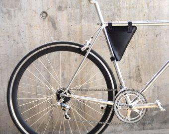 Fietsen traingle pack fiets frame etui bruin door cinnamoncocoon