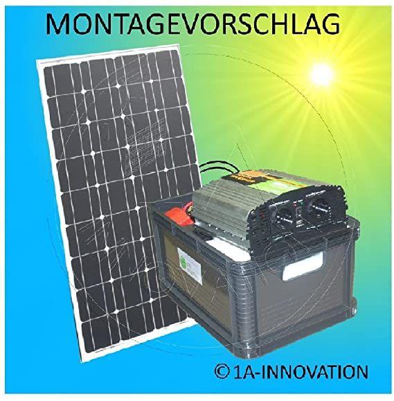 100w Solaranlage Komplettpaket 220v Tuv Amazon De Elektronik In 2020 Solaranlage Solar Sonnenkollektor
