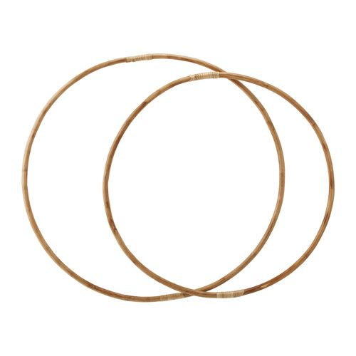 IKEA - LATTJO, Hula hoop, set of 2, Playing with a hula hoop is good exercise and a fun way to practice coordination for all ages.Suitable for both indoor and outdoor use.