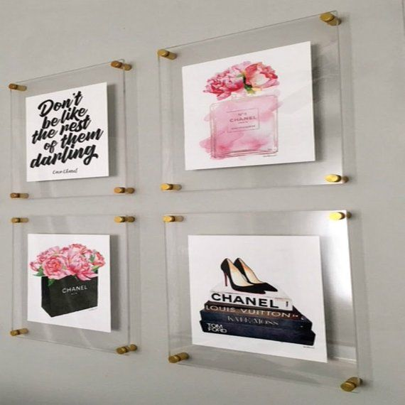 Acrylic Frame Photo Floating Frame Picture Frame