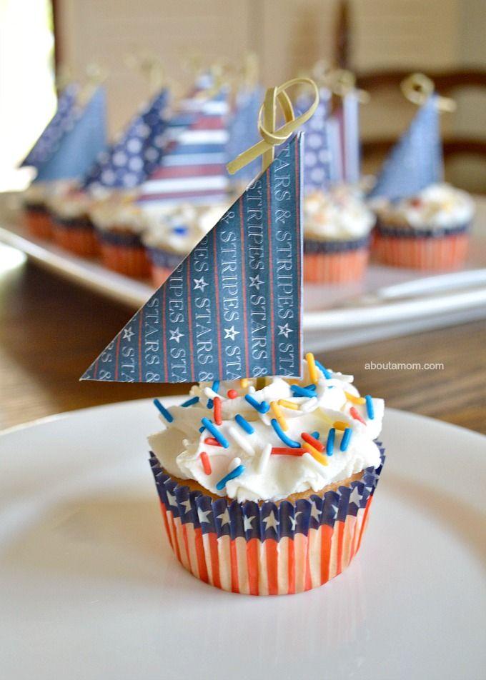 Best 25 Sailboat cupcakes ideas on Pinterest  Nautical
