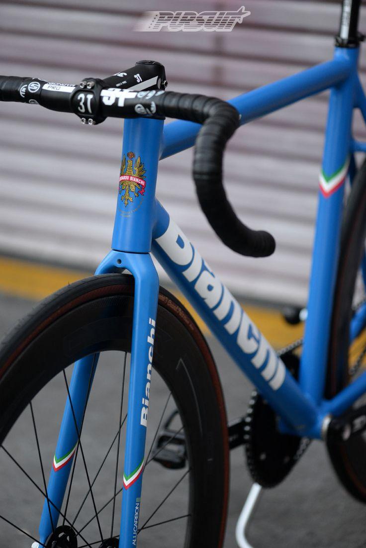 Pursuit Bicycles - Azzurro Blue Bianchi Super Pista - Imgur