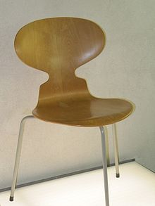 THE ANT: Arne Jacobsen designed the Ant™ for the canteen at Novo Nordisk, an international Danish healthcare company.