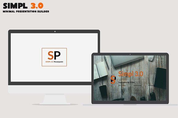 SIMPL 3.0 Presentation  by BizzCreatives on @creativemarket