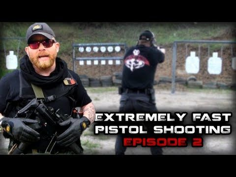 Extremely Fast Pistol Shooting   Episode 2   FunkerTactical·