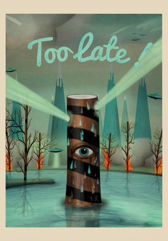 too late! – The Pig Gallery - Sergio Millan - Comprar ilustraciones