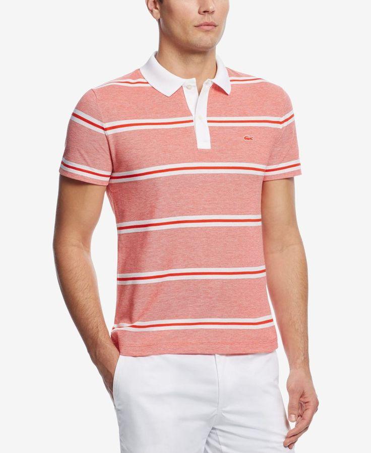 Lacoste Men's Pique Stripe Polo