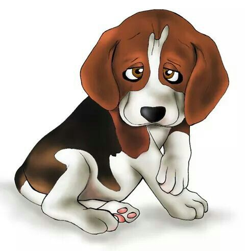 Illustration beagle photoshop by ARTEILA