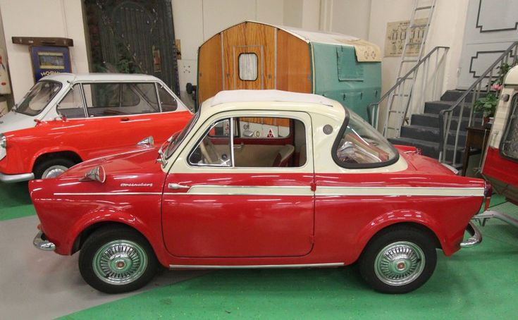 The small cars produced in the 1950s and 1960s were ...