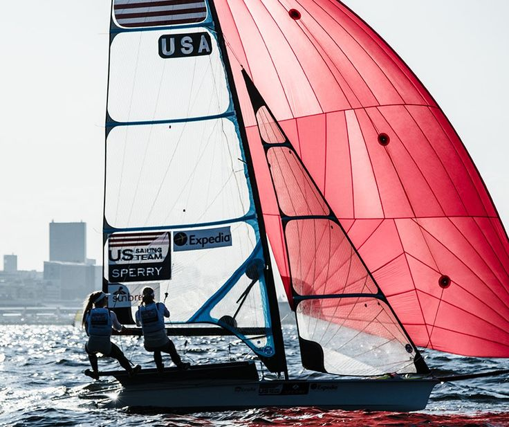 Womens 49er FX Sailing Overview | Uncharted Waters