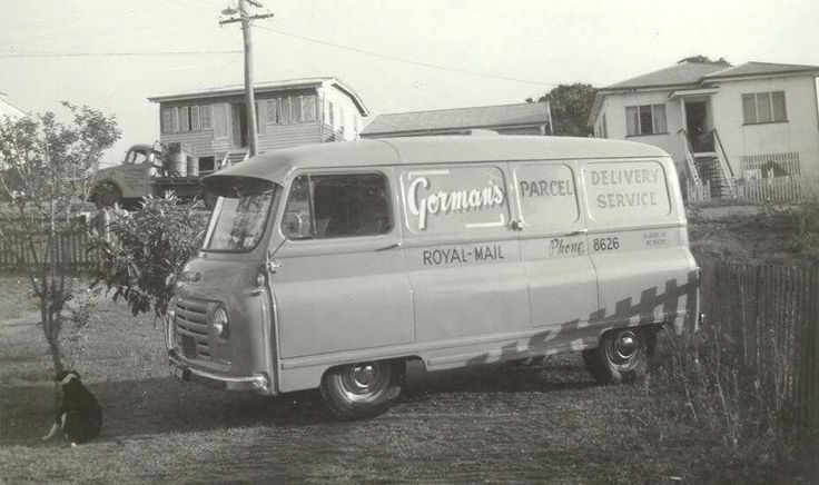 Gormans first delivery van 1960's