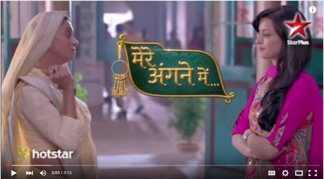 http://www.indiandramas.freedeshitv.com/watch-mere-angne-mein-promo-youtube-video-online/