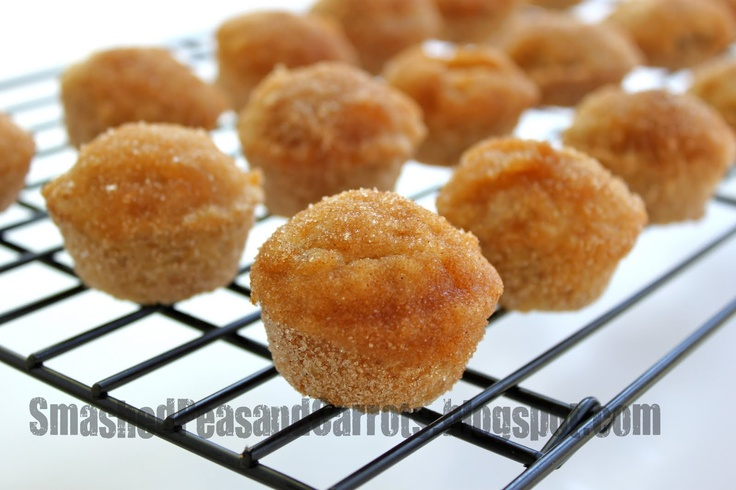 Smashed Peas and Carrots: Donut Muffins | Sweet Tooth | Pinterest