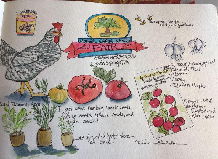 Watercolor Travel Journal by Tisha Sheldon