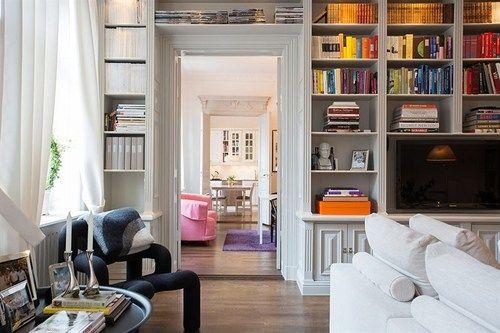 platsbyggd bokhylla östermalm - Sök på Google