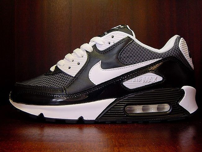 "#Nike Air Max 90 ""Black / White"""