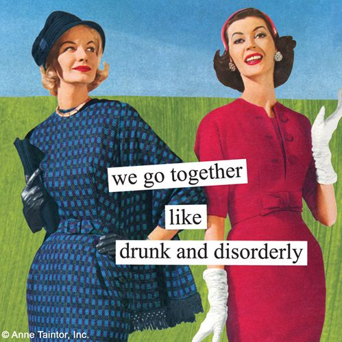 LimeDiva - We Go Together Like Drunk and Disorderly