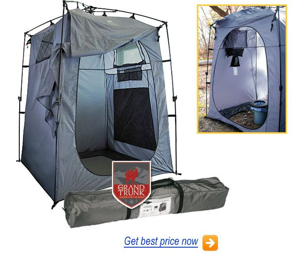 Grand Trunk Camping Toilet Tent Review