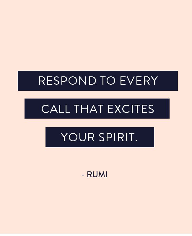 excites your spirit