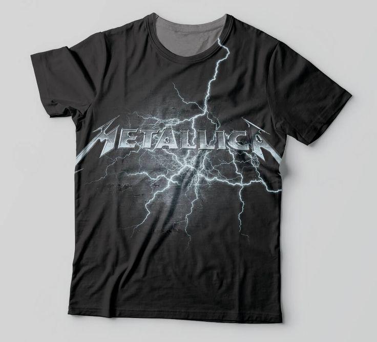 Camiseta Metallica - Camisetas de Rock