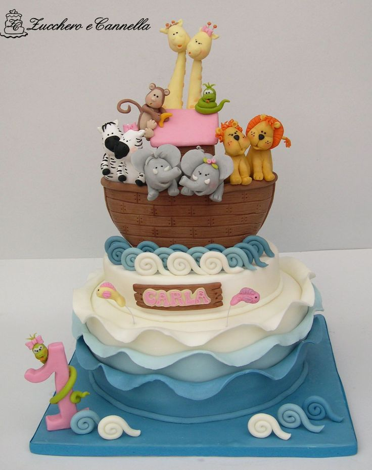Noah S Ark Birthday Cake