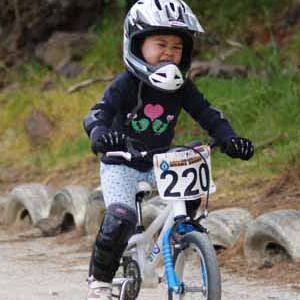 Love this pic of Sacha racing her E-250 Kids Bike.  Kids get that need for speed young and they know all too well how good it feels to zoom on their bicycle!