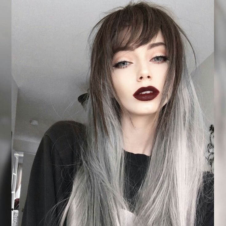 Fashion gray ombré