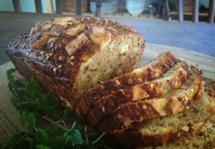 Another Chilli Cheese Protein loaf! We love this with pumpkin soup on a winters day.