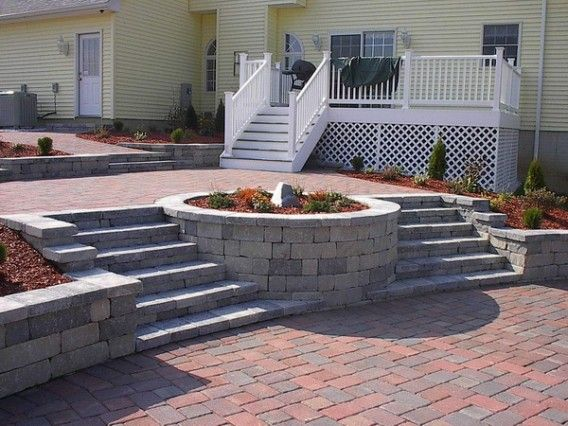 Backyard Paver Designs Magnificent Decorating Inspiration