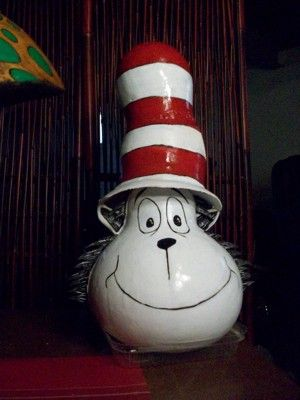 Cat in the Hat Gourd-light bulb inspiration