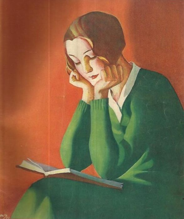 Oma Koti, March 1934. Martha Wendelin (Finnish. 1893-1986).