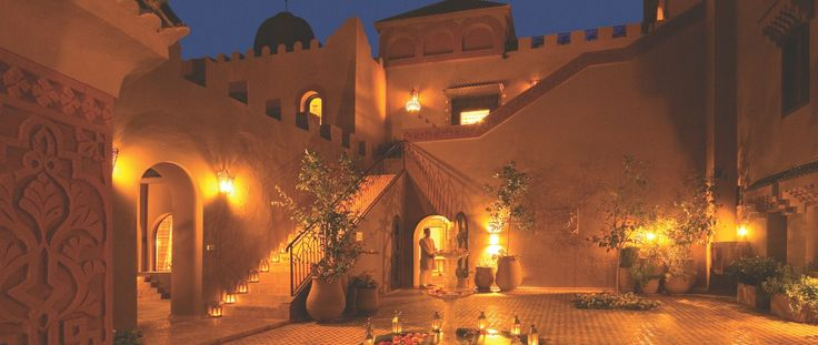Luxury Holiday Ideas Morocco Kasbah Tamadot Facade