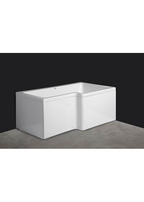 BADEMILJØ 11 000  Svedbergs Z150  Hvitt badekar i Akryl med badevolum på 180 liter. Lite og praktisk med god dusjplass. Perfekt for deg som har liten plass, men som både vil kunne bade og dusje. Kan fås i både høyre- og venstreutførelse. Inkludert front- og sidepanel. OBS! Pris uten blande    OBS! Pris uten blandebatteri. Høyreutførelse.